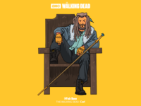 THE WALKING DEAD-Ezekiel