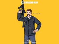 THE WALKING DEAD-Abraham