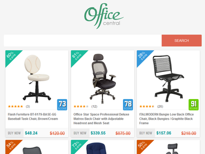 Office Central layout clean ui web flat website wordpress responsive