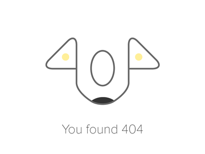 404 illustration just for fun 404