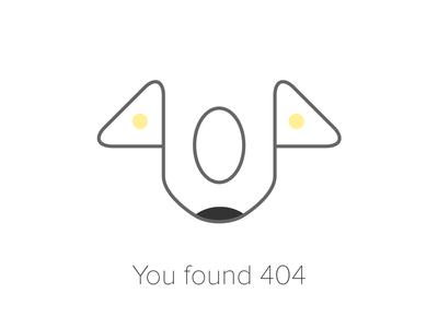 404 illustration just for fun 404