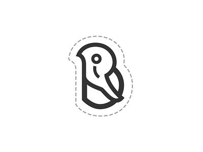 RiB logo for sale logo concept monochrome vector bd illustration logo logo idea