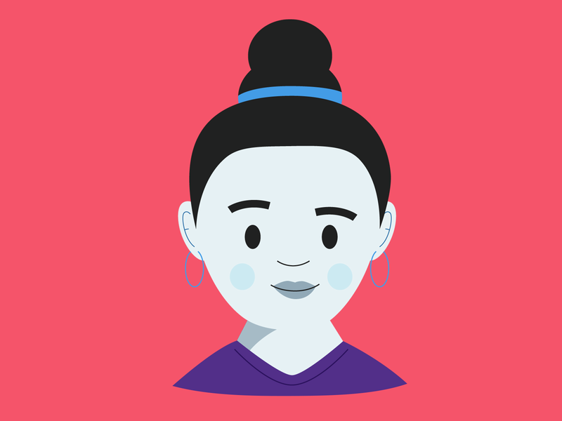Greta Do It Betta ui woman illustration avatar head women woman character illustration