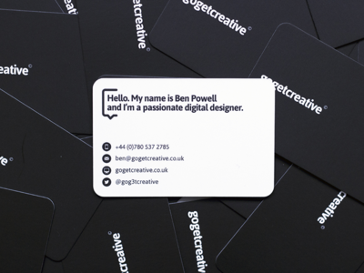 gogetcreative business cards
