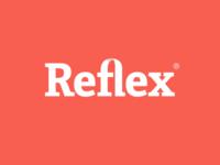 Reflex Medical Logo on red