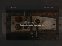 Bean's Coffee homepage