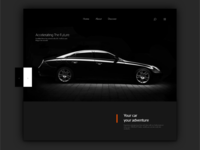Car product page design