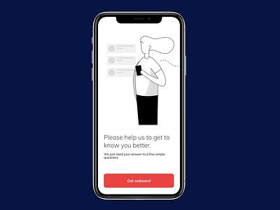 Phone number verification motion prototype illustraion sport fitness designs application app product ux ui