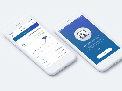 Banking Application money fintech banking design app ux ui illustration