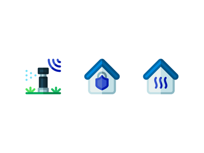 Automated home icons automated automatic home house minimalistic lines design illustration vector linear line minimal icons minimalism minimalist icon