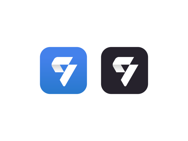 Q app icon fitness mark monogram q app design app icon appicon app branding logo minimalistic design illustration vector minimal minimalism minimalist icon