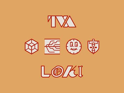 Loki icons god disney comics comic marvel loki lines lineal linear line illustration vector minimal icons minimalism minimalist icon