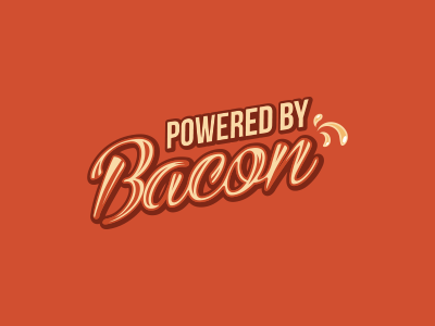 Bacon shirt breakfast power apparel shirt delicious flavor pork pig grease food bacon