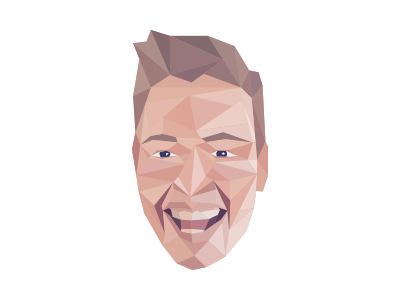 Low poly low poly hair head face triangles triangle polygons polygon poly low