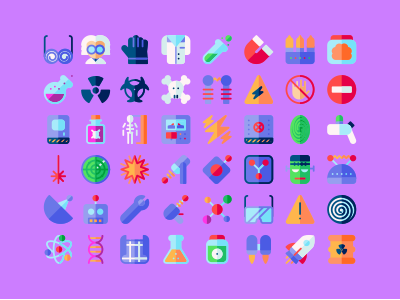 Mad Science icons