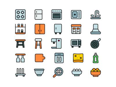 Kitchen icons 3