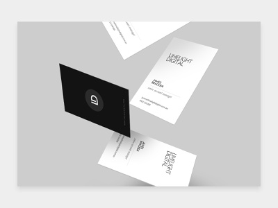 Limelight Branding stationery minimal design branding design business cards business card businesscard branding