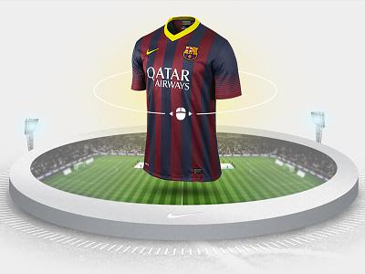 Nike Stadium interactive ui nike
