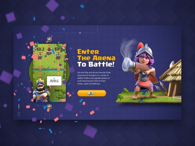 Clash Royale game supercell website
