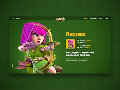 Clash Royale Character Details supercell clash royale game