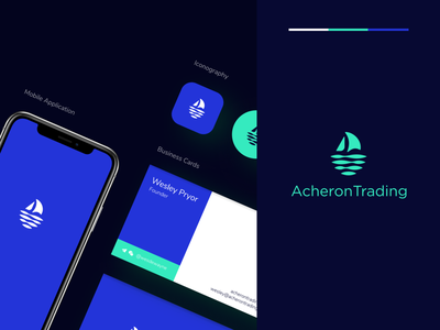 Acheron trading - Branding water liquid acheron crypto currency startup tech logo logo design bitcoin minimal blockchain branding logo branding design fintech finance trading cryptocurrency blockchain crypto branding clean