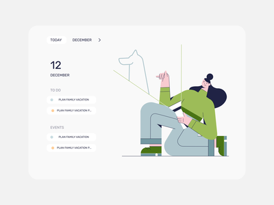To do list concept illustration after effects animation motion