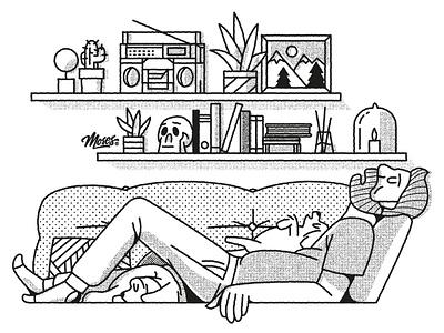 Snooze branding design vector illustration