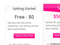 CSS3 Plans & Pricing Table