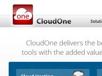 CloudOne web type