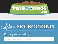 Petbookings Header