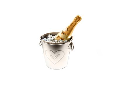 Champagne identity ux ui web vector ios branding logo animation icon app website clean design illustrator illustration flat