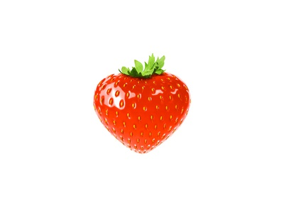 Strawberry strawberry mobile minimal lettering logo identity web website branding animation typography design flat illustrator vector illustration icon