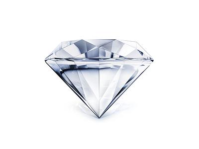 Diamond rock design icon illustrator flat diamond illustration