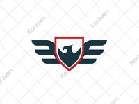 Phoenix Emblem Logo