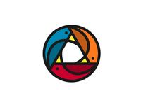 Circular Birds Logo