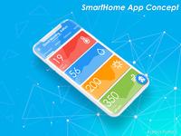 Smarthome App UI Concept