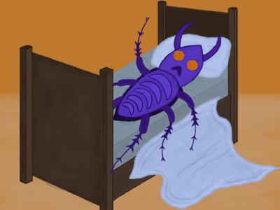 Franz Kafka - Metamorphosis Illustration