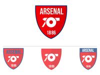 Arsenal F.C Logo Rebranding Part 2