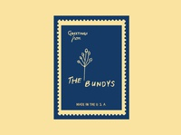 The Bundys (Print Logo 1)