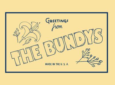 The Bundys (Print Logo 2)