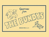 The Bundys (Print Logo 2)