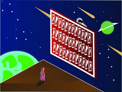 Batik In The Space