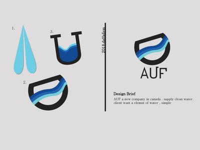 Logo Design [ AUF water ]
