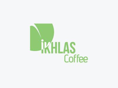 Logo Design [ Ikhlas coffee ]