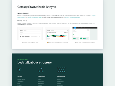 Banyan - Design System! component react icons icon guide typography color scheme grid ui design style guides color style guide design system design ux ui flat