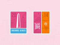 Dribbble Meetup Stamps!