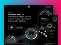 Reactable Rotor Landing WIP