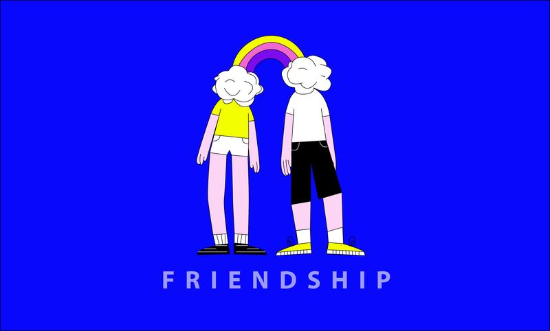 friendship happy love relation relationship pepole art illustration illustrator friendship