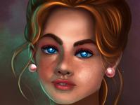 Face digital painting