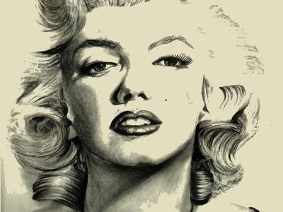 Illustration of Marilyn Monroe